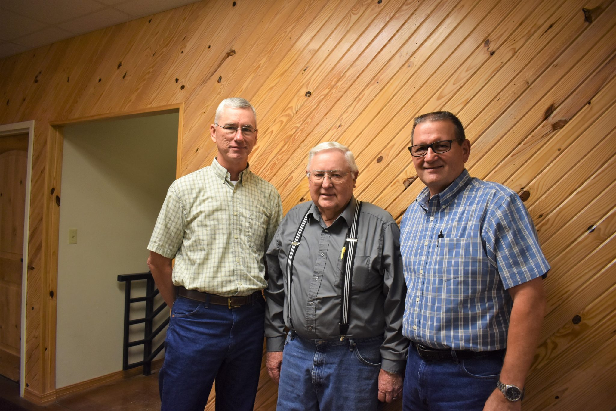 Church Elders Mark Roberson, James McEachern, Denny Hokit