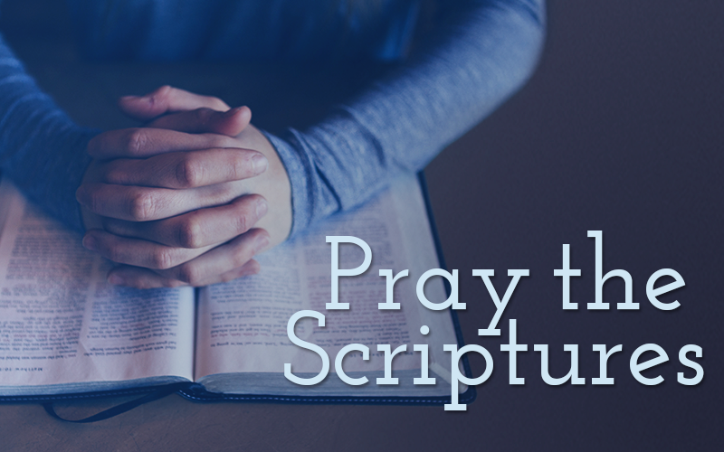 How To Pray the Scriptures